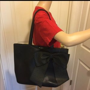 ❤️❤️Large Black Karl lagerfeld bow tote bag ❤️❤️